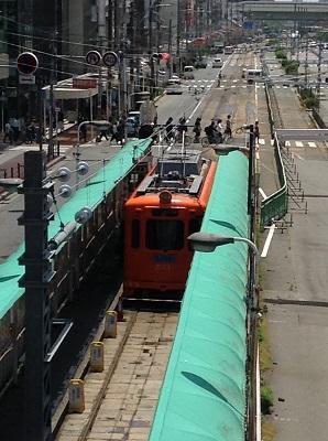 阪堺線天王寺駅