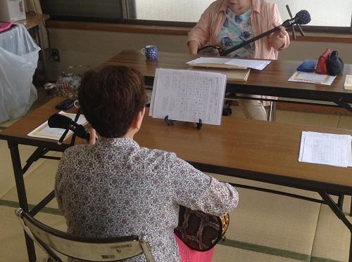 三線教室,2017年上半期おさらい会,徳島,加茂名公民館島田分館