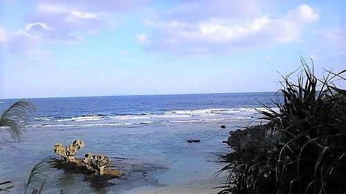 古宇利島のハートロックを見に行きました