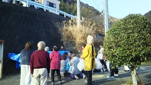日高川町|広瀬地区のもちまき