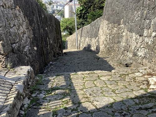 金城の石畳道